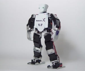 Vstone'S Mini-Humanoid Robots Will Take Over the World (Someday)