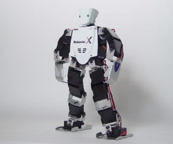 Vstone'S Mini-Humanoid Robots Will Take Over the World (Someday)