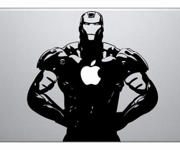 Iron Man Vinyl Decal Sticker for Your Macbook