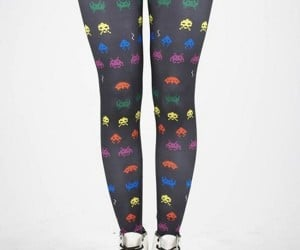 Space Invader Tights for Gamer Girls