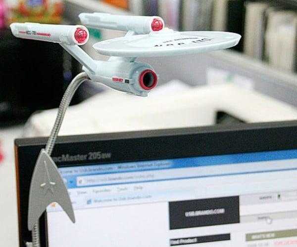 Star Trek Enterprise Webcam Warps Onto Desktops