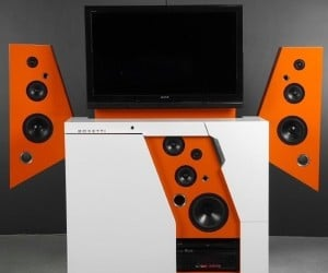 Boxetti Transformer Home Theater is Pricey, Yet Fugly