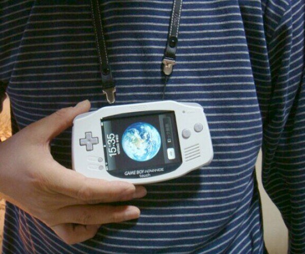Modder Crams iPhone Into Game Boy Advance