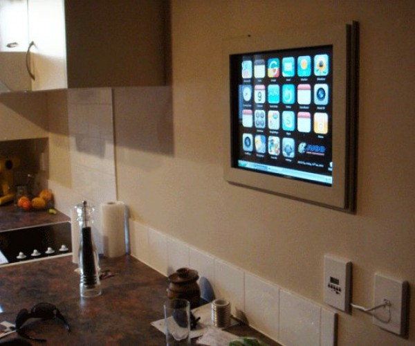 DIY iPhone Touchscreen Kitchen Computer: Not the Apple Tablet