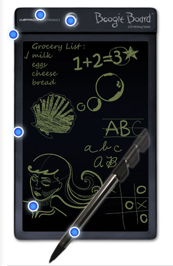 tablet boogie board writing lcd