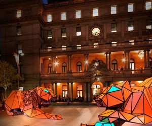 Giant Origami Tigers Land in Sydney