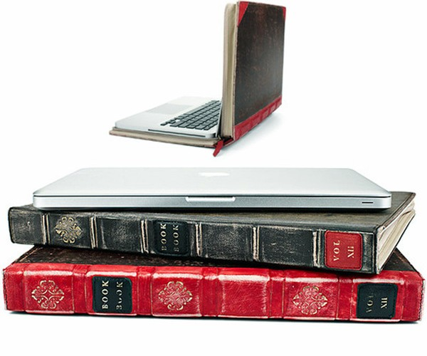 Bookbook Hides Your Macbook on Your Bookshelf
