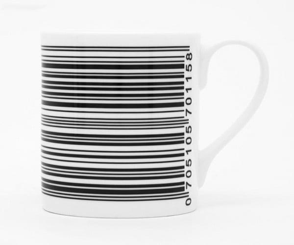 Beep Mug: have Yourself a Hot Upc of Coffee