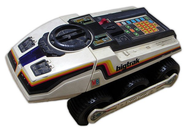 Classic 80s Toys : Bigtrak back from the s with lots of retro goodness
