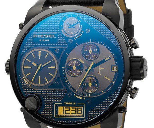 Diesel Time Zone Watch has More Time Zones Than You Really Need