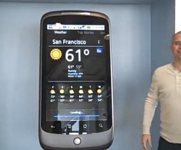 Nexus One… Thousand: Google'S Phone Gets Upsized