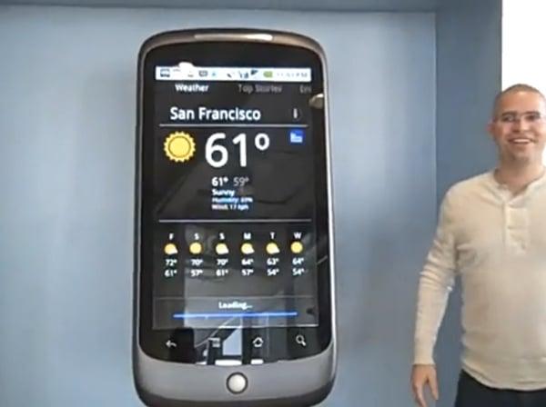 Google Nexus One prop