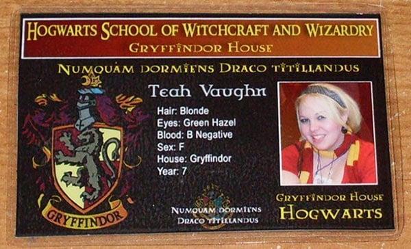 Hogwarts school ID 1