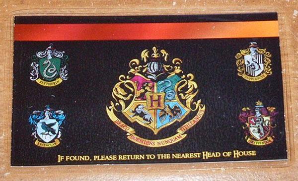 Hogwarts school ID 2