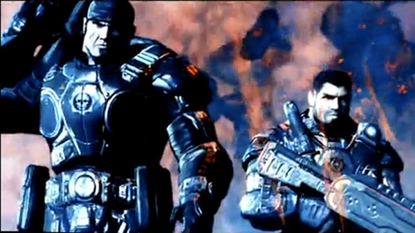 Lost Planet 2+Gears of War characters