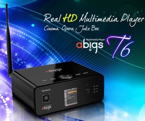 Abigs T6 & D7 Wireless Media Players Jump Into the HD Fray