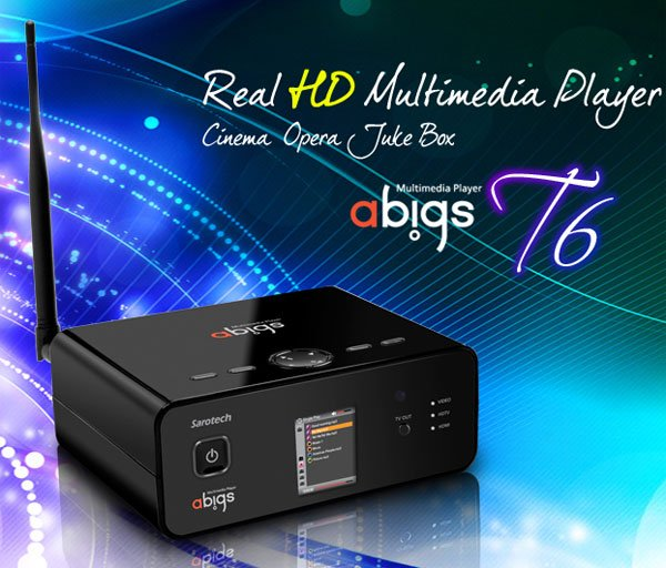 abigs t6 hdtv media player