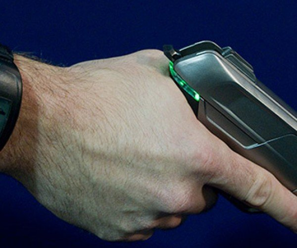 Sidearm With a Sidekick: Armatix Pistol Unlocks via Wristwatch