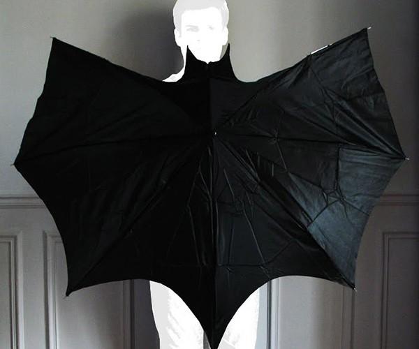 Scare the Rain Off With the Batman Umbrella