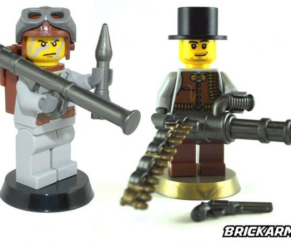 Brickarms: Outfit Your LEGO Minifigs With Guns and Knives!