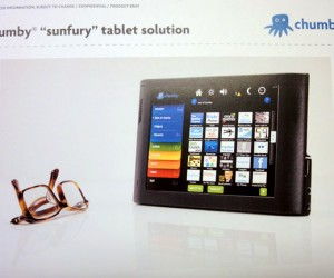 Chumby Sunfury Tablet Computer Platform in the Works
