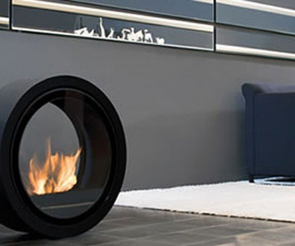 Rolling Fireplace Makes Fire as Dangerous as Possible
