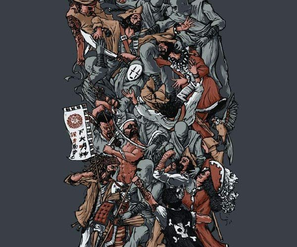 Epic Battle Shirt Features the Debate of the Millenium