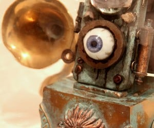 "Steampunk ""Eye-Pod"" Ain'T No Nano No Mo"