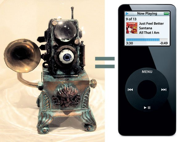 eye pod by dr grymm steampunk ipod nano