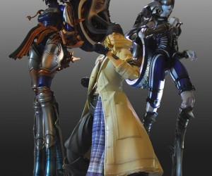 Final Fantasy Xiii Shiva and Odin Action Figures: Summon Them With Your Money
