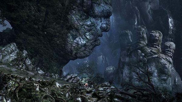 god of war 3 kratos on gaia 1