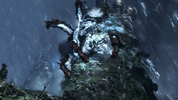 god of war 3 kratos on gaia 2