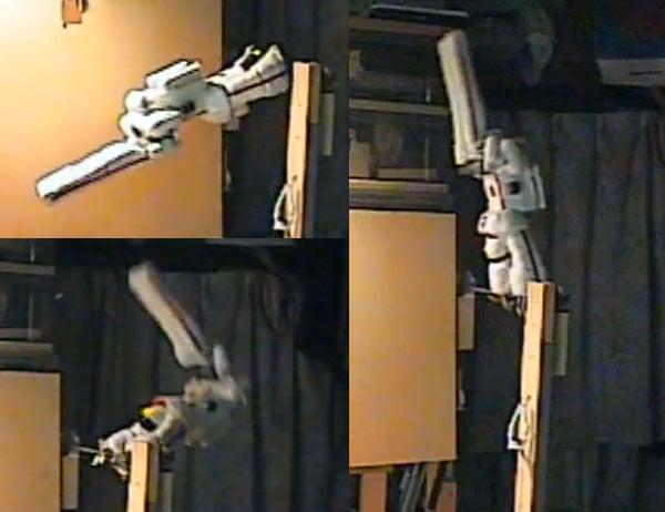 gymnastic robot