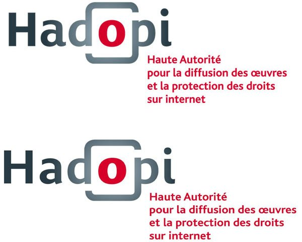 hadopi logo comparison