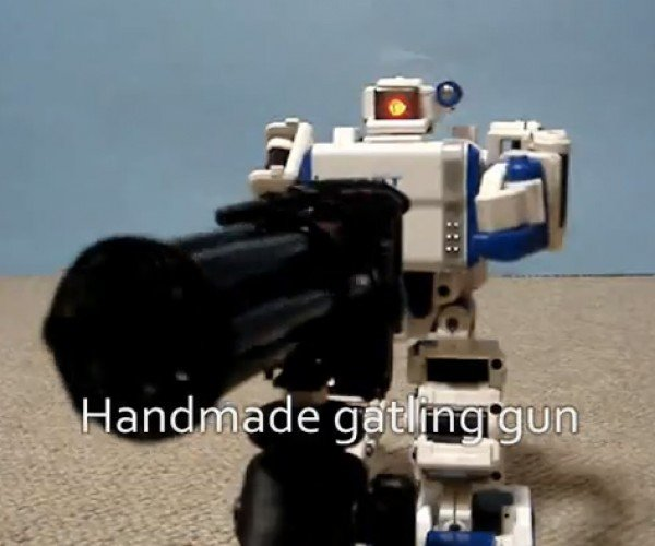 I-Sobot: the Rambo of Toy Robots