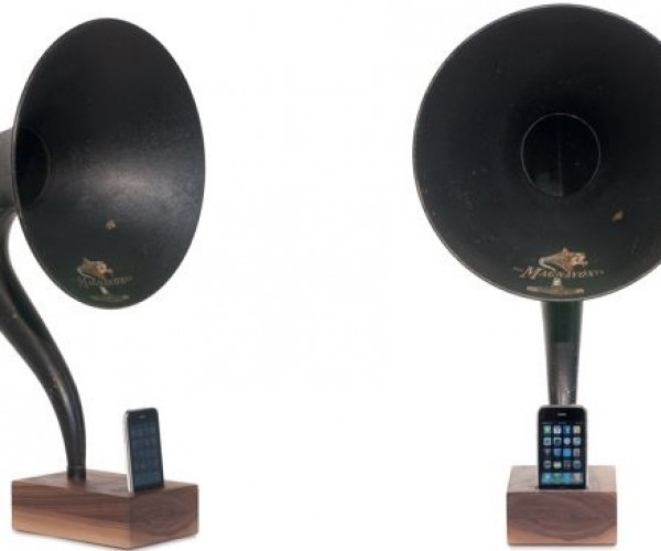 iVictrola iPhone/iPod Touch Amplifier: Blast From the Past