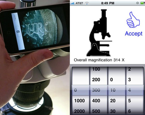 imicroscope iphone microscope