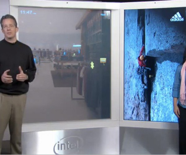 Intel Digital Signage Concept: an Advertisement More Powerful Than Your Laptop