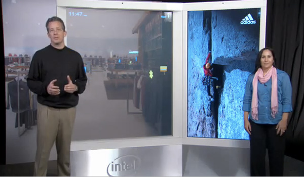 Intel digital signage concept