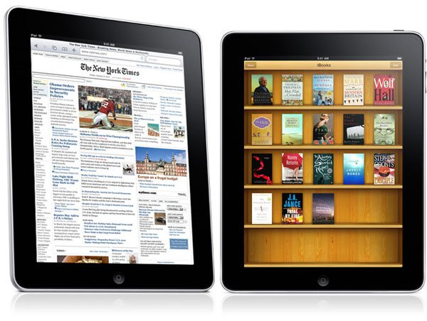 iBook Store on the iPad.