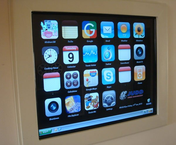 iphone kitchen computer interface