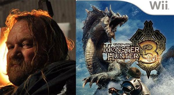 ironbeard mc cullough + monster hunter tri