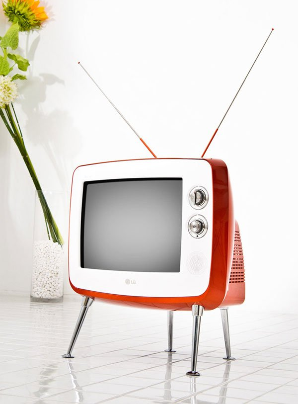 lg serie 1 retro classic tv everything old is new again. Black Bedroom Furniture Sets. Home Design Ideas