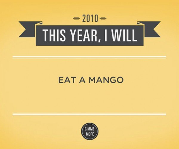 New Year'S Resolution Generator Reminds Us We'Re Not Perfect
