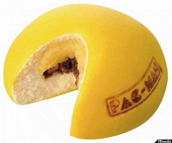 Pac-Man Cookie Buns is the Best Title for an Article Ever