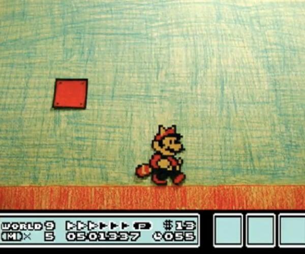 Paper Super Mario Brothers 3