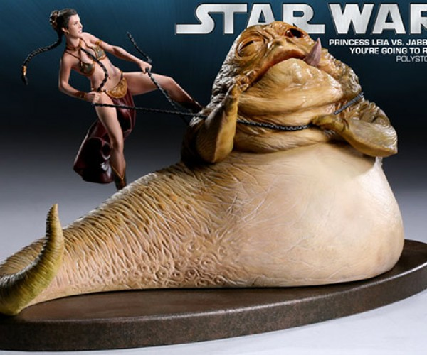 Leia Vs. Jabba Star Wars Diorama Will Confuse Your Hormones