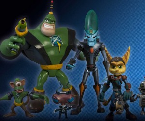Ratchet & Clank Vinyl Figures: Toys of Adorableness