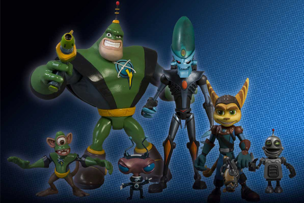 Ratchet Clank Vinyl Figures Toys Of Adorableness