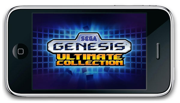 sega genesis ultimate collection iphone emulator